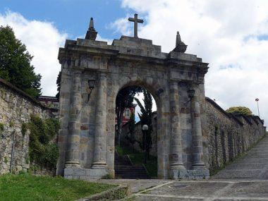 Antiguo cementerio de Begoña Bilbao