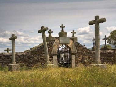 cementerio de Salvatierra de Tormes Salamanca