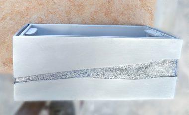 jardinara para lápida de aluminio envejecido